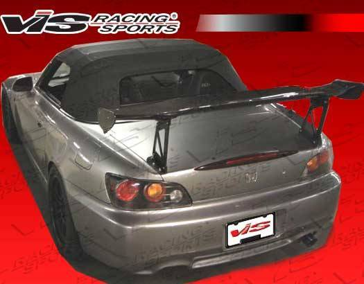 VIS Racing - Carbon Fiber Spoiler SP Style for Honda S2000 2DR 00-09