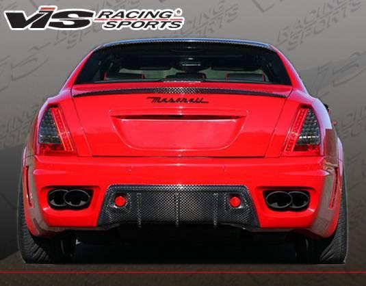 VIS Racing - Carbon Fiber Spoiler VIP Style for Maserati Quattroporte 4DR 05-07