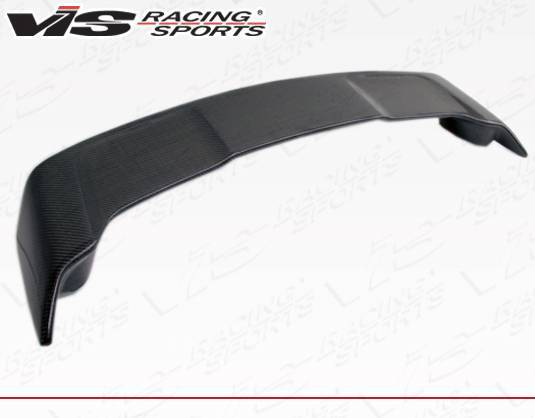VIS Racing - Carbon Fiber Spoiler Rally Style for Mitsubishi Evo 10 4DR 08-15