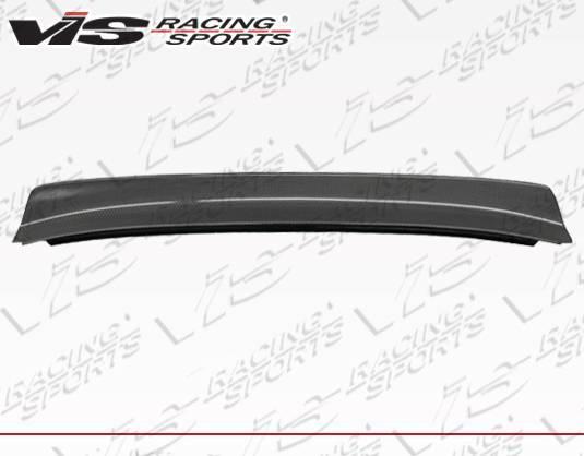 VIS Racing - Carbon Fiber Spoiler Quad Six Style for Nissan 240SX 2DR 95-98