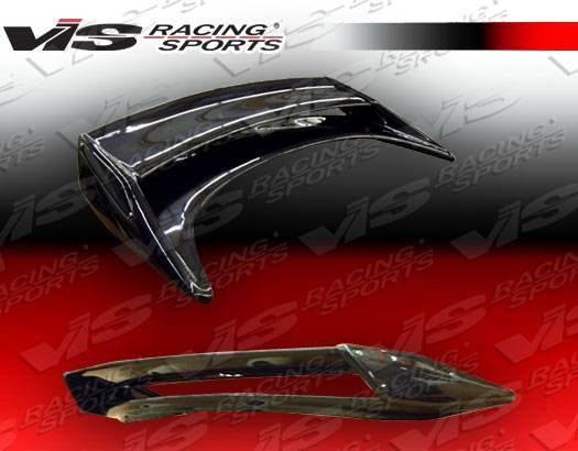 VIS Racing - Carbon Fiber Spoiler Techno R 2 Style for Nissan 350Z 2DR 03-08