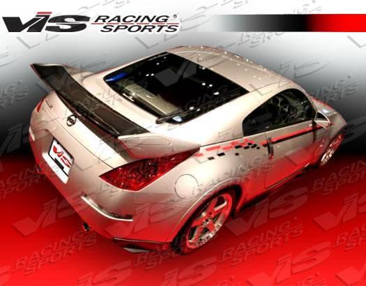 VIS Racing - Carbon Fiber Spoiler Techno R 2 Style for Nissan 350Z 2DR 03-08