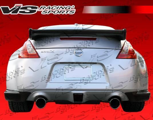 VIS Racing - Carbon Fiber Spoiler Techno R Style for Nissan 370Z 2DR 09-19