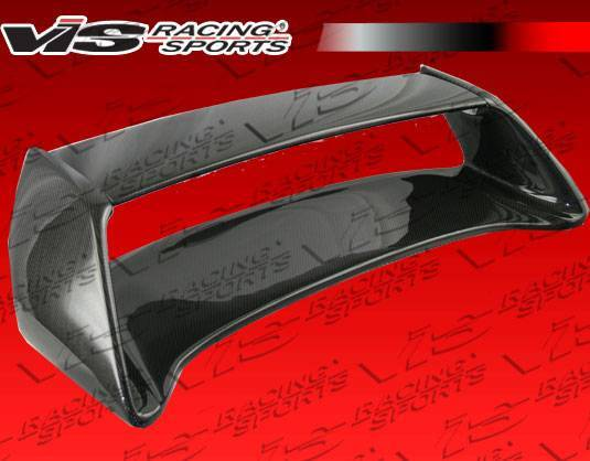 VIS Racing - Carbon Fiber Spoiler STI Style for Subaru WRX 4DR 02-07