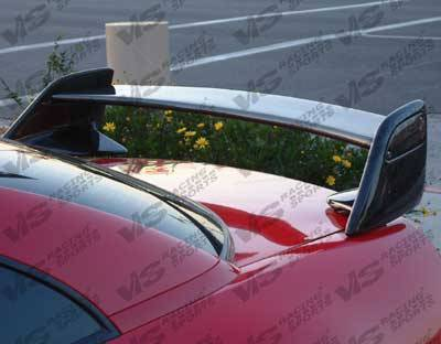 VIS Racing - Carbon Fiber Spoiler Techno R  Style for Toyota Celica 2DR 00-05