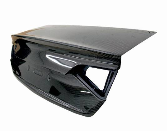 VIS Racing - Carbon Fiber Trunk OEM Style for Audi  A4 4DR 09-12