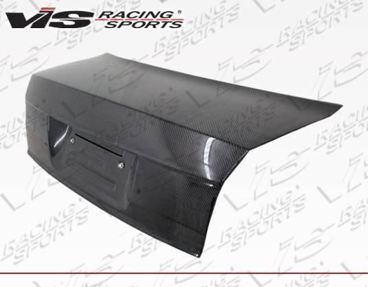 VIS Racing - Carbon Fiber Trunk OEM Style for Audi  A4 4DR 02-05