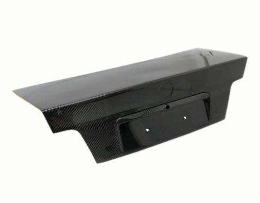 VIS Racing - Carbon Fiber Trunk OEM (Euro) Style for BMW 3 SERIES(E36) 4DR 92-98