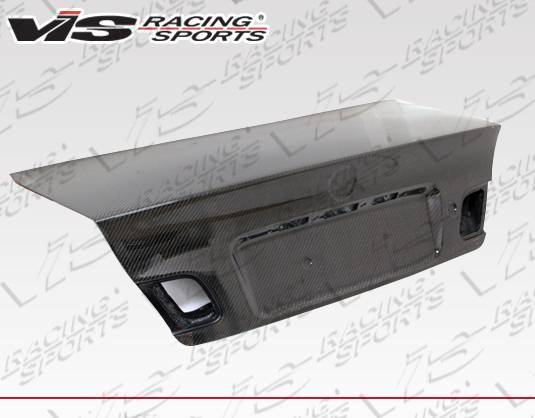 VIS Racing - Carbon Fiber Trunk OEM (Euro) Style for BMW 3 SERIES(E46) 2DR 99-05