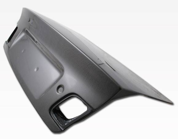 VIS Racing - Carbon Fiber Trunk OEM (Euro) Style for BMW 3 SERIES(E46) 4DR 99-05