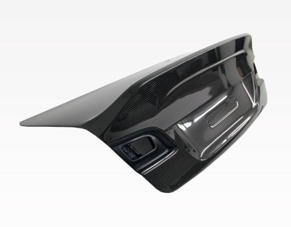 VIS Racing - Carbon Fiber Trunk AMS Style for BMW 3 SERIES(E92) 2DR 07-13