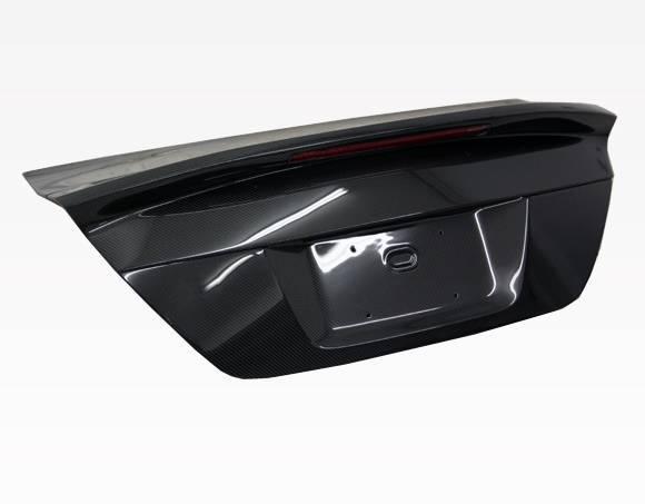 VIS Racing - Carbon Fiber Trunk OEM Style for Honda Civic SI 2DR 12-13