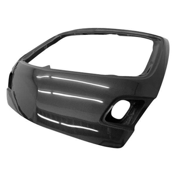 VIS Racing - Carbon Fiber Trunk OEM Style for Mazda 3 Hatchback 04-09
