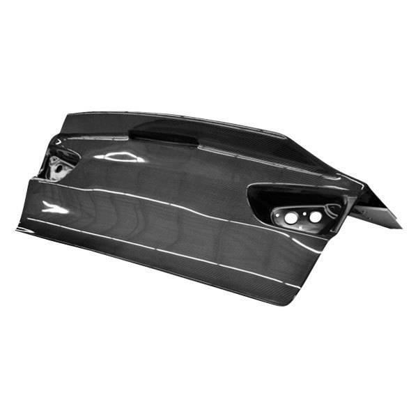 VIS Racing - Carbon Fiber Trunk Demon Style for Mitsubishi EVO 10 4DR 08-15