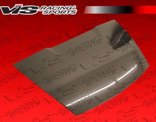 VIS Racing - Carbon Fiber Trunk OEM Style for Porsche Boxster 2DR 97-04