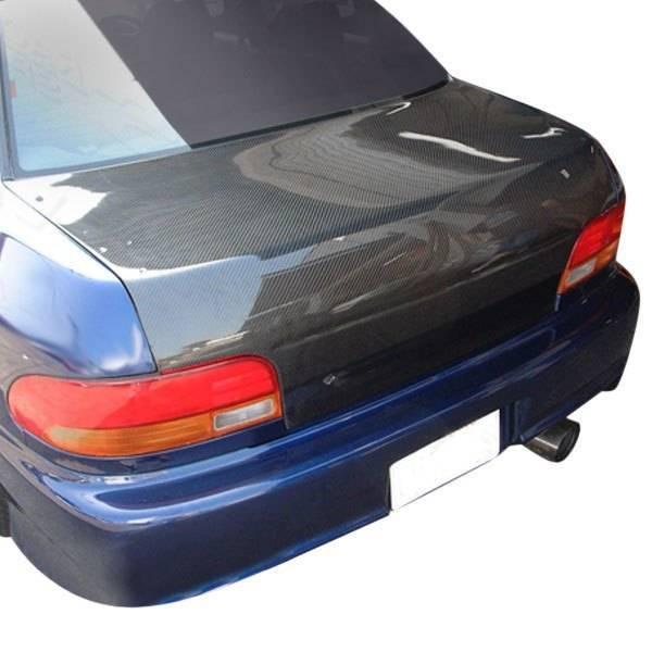VIS Racing - Carbon Fiber Trunk OEM Style for Subaru Impreza 2DR & 4DR 93-01