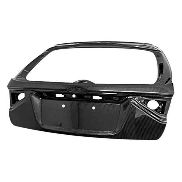 VIS Racing - Carbon Fiber Trunk OEM Style for Subaru WRX Hatchback 08-14