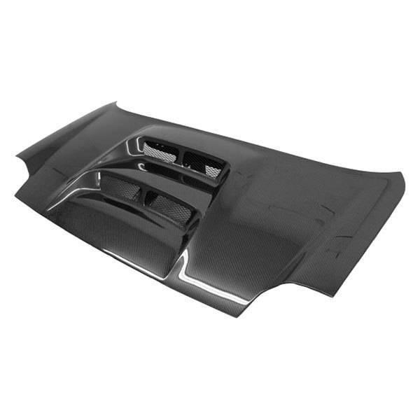 VIS Racing - Carbon Fiber Trunk V LINE Style for Toyota MRS 2DR 00-05