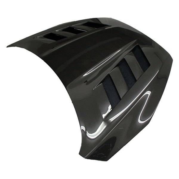 VIS Racing - Carbon Fiber Hood AMS Style for Ford Focus 2DR & 4DR 15-18