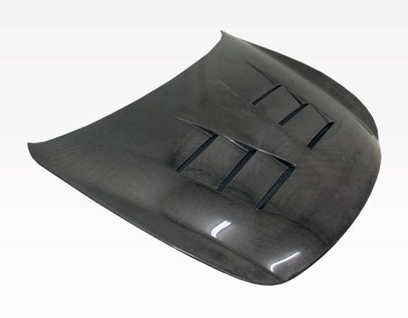VIS Racing - Carbon Fiber Hood Terminator Style for Infiniti Q60 2DR 14-15