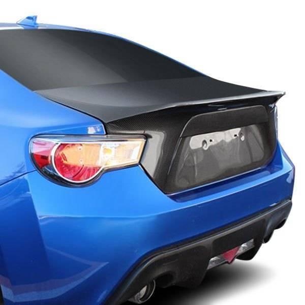 VIS Racing - Carbon Fiber Trunk Demon Style for Subaru BRZ 2DR 13-17