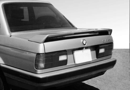 Wings West - 1992-1998 Bmw E36 2/4Dr Low Profile M3 Style Wing No Light