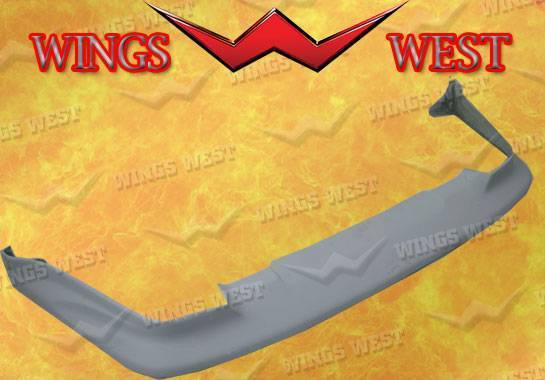 Wings West - 1987-1989 Nissan 300Zx Front Lip Fiberglass
