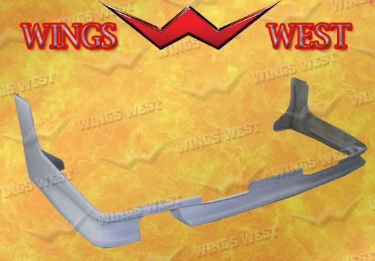 Wings West - 1987-1989 Nissan 300Zx Coupe Rear Lip Fiberglass