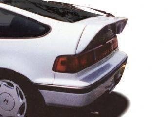 Wings West - 1988-1991 Honda Crx Flush Mount Deck Spoiler No Light