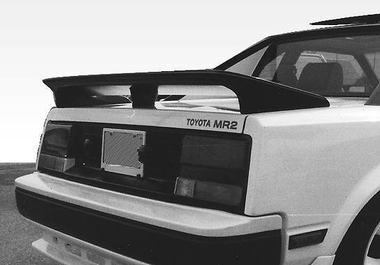 Wings West - 1985-1989 Toyota Mr2 Factory Style 3 Leg Wing No Light