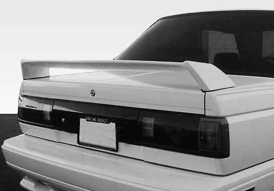 Wings West - 1987-1990 Nissan Sentra M3 Style Wing No Light