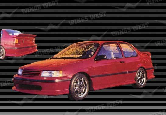 Wings West - 1992-1993 Toyota Tercel 2 Door Front Lip Fiberglass