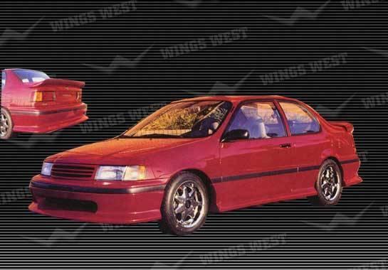 Wings West - 1992-1993 Toyota Tercel 2 Door Rear Lip Fiberglass