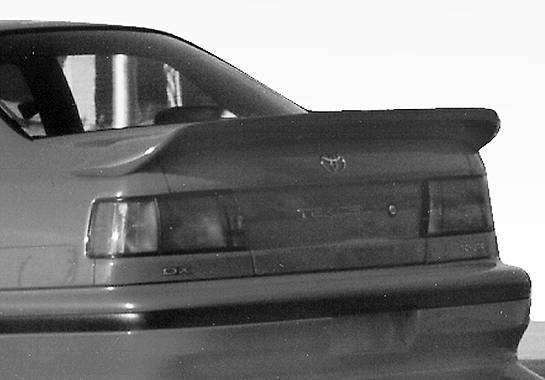 Wings West - 1991-1994 Toyota Tercel 2Dr. Custom Style Wing No Light