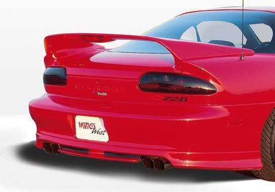 Wings West - 1993-2002 Chevrolet Camaro W-Typ Rear Lip Polyurethane