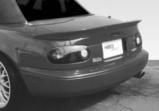 Wings West - 1990-1998 Mazda Miata Custom Lip Spoiler Fiberglass