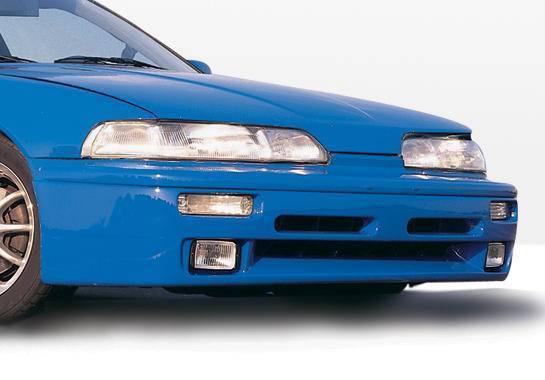 Wings West - 1990-1991 Acura Integra 2 Door Racing Series Front Lip FRP