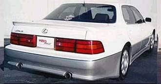 Wings West - 1990-1994 Lexus Ls 400 4Dr Ww Rear Bumper