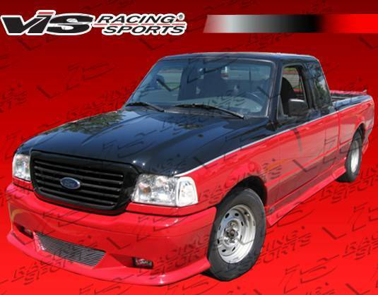 Wings West - 1998-2008 Ford Ranger W Type Front Lip