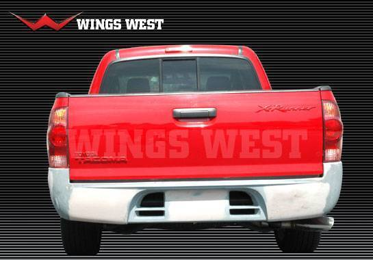 Wings West - 2005-2008 Toyota Tacoma Extended Cab Ww Type Rear Roll Pan