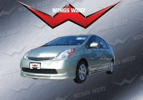 Wings West - 2004-2009 Toyota Prius W-Type Front Lip