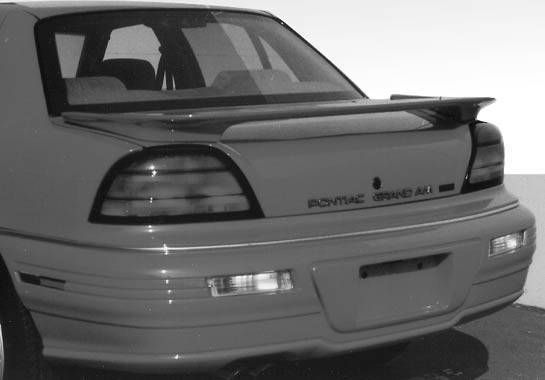 Wings West - 1992-1995 Pontiac Grand Am Wrap Around Style Wing