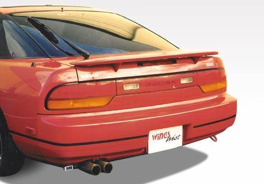Wings West - 1989-1994 Nissan 240Sx Liftback Factory Style Spoiler