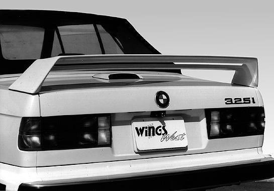 Wings West - 1984-1991 Bmw 325 Double M3 Style Wing