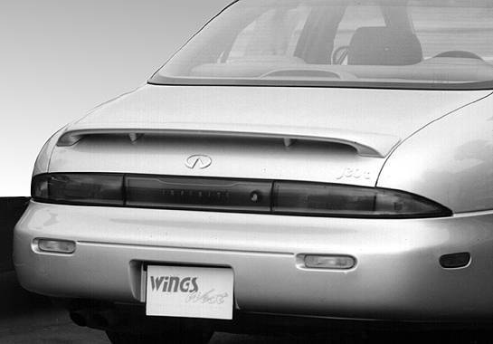 Wings West - 1993-1997 Infiniti J30 Factory Style Wing No Light