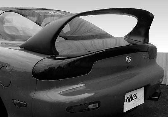 Wings West - 1993-1997 Mazda Rx7 Super Style Spoiler No Light
