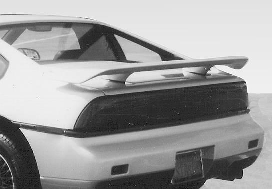 Wings West - 1984-1988 Pontiac Fiero Factory Style Wing No Light
