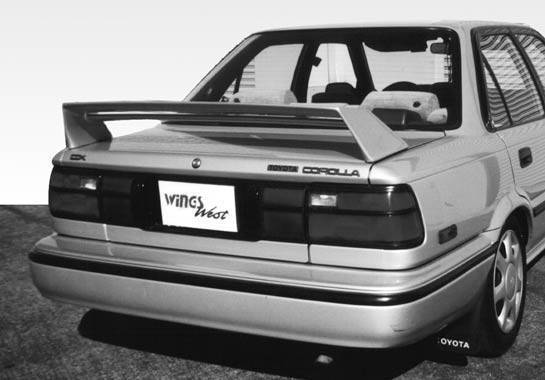 Wings West - 1988-1991 Toyota Corolla Double M3 Style Wing