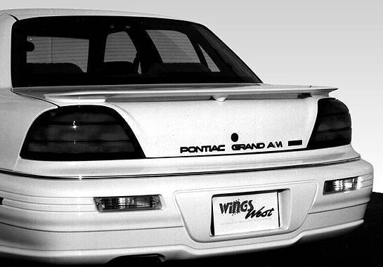 Wings West - 1992-1995 Pontiac Grand Am 2/4Dr. Factory Style Wing