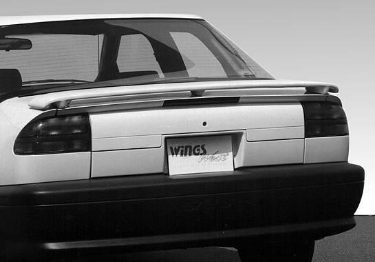 Wings West - 1991-1995 Saturn Sl 4Dr. Factory Style Wing No Light